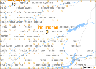 map of Figueiredo