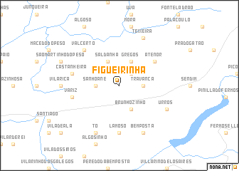 map of Figueirinha