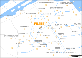 map of Filasţīn