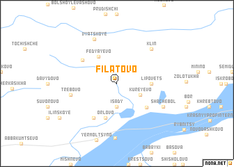 map of Filatovo