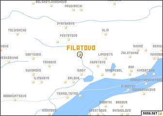 map of Filatovo