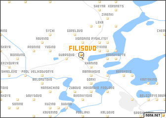 map of Filisovo