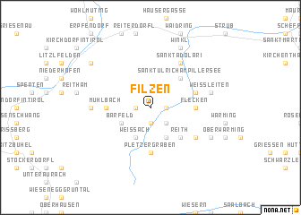 map of Filzen