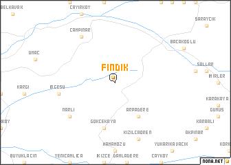 map of Fındık