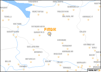 map of Fındık