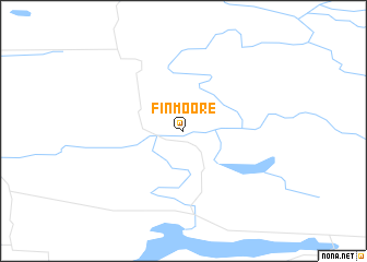 map of Finmoore