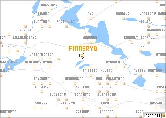 map of Finneryd