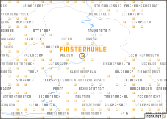 map of Finstermühle