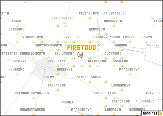 map of Firstovo