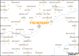 map of Fischendorf
