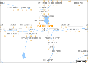 map of Fischhorn