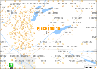 map of Fischtaging