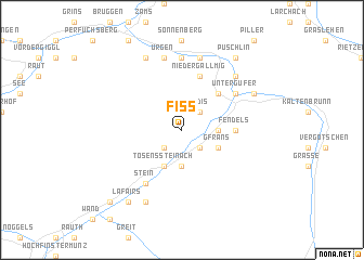 map of Fiss