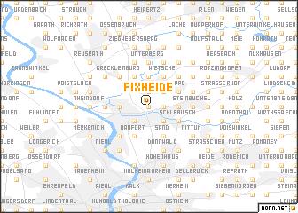 map of Fixheide