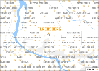 map of Flachsberg