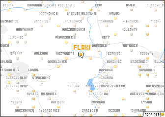 map of Flaki
