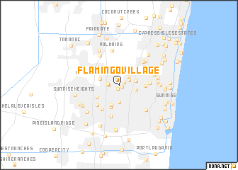 map of Flamingo Village