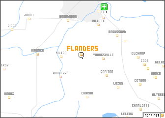 map of Flanders
