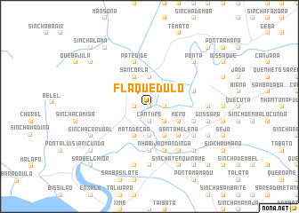 map of Flaque Dulo