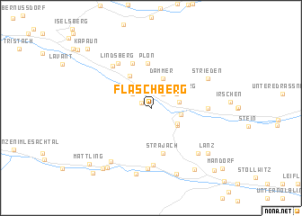 map of Flaschberg