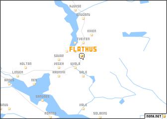map of Flathus