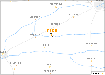 map of Flax