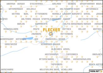 map of Flecken