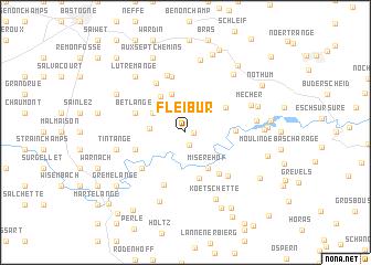 map of Fleibur