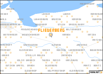 map of Fliederberg