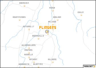 map of Flinders