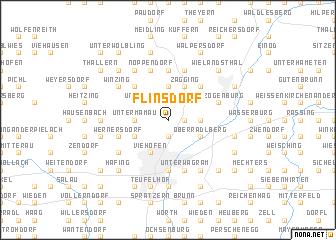 map of Flinsdorf