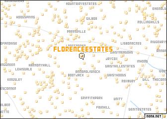 map of Florence Estates