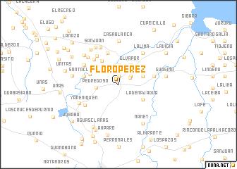 Floro Prez Cuba map nonanet