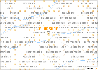 map of Flugshof