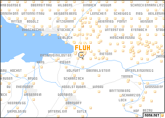 map of Fluh