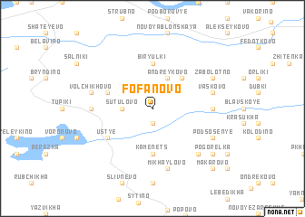 map of Fofanovo