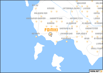 map of Foiníki