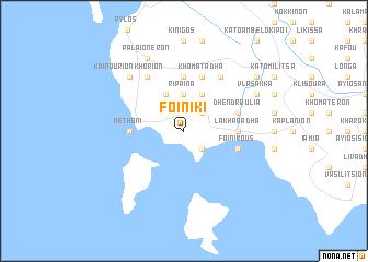 map of Foiníki