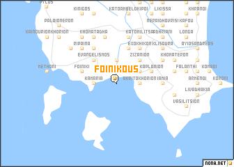 map of Foinikoús