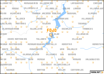 map of Fojo