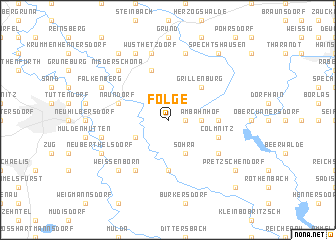 map of Folge