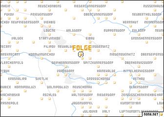 map of Folge