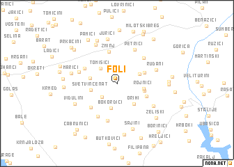 map of Foli