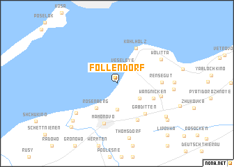 map of (( Follendorf ))