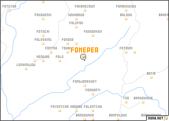 map of Fomépéa