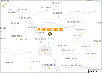 map of Fomishcheno