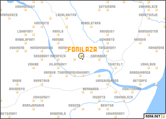 map of Fonilaza