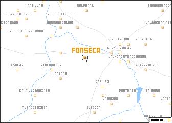 map of Fonseca