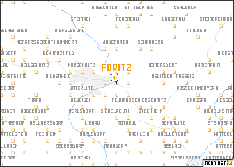 map of Föritz