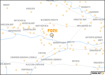 map of Förk